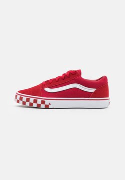 Vans - OLD SKOOL UNISEX - Sneaker low - chili pepper/true white