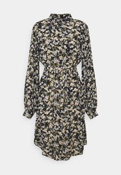 PIECES Tall - PCGERTRUDE SHIRT DRESS - Paitamekko - black