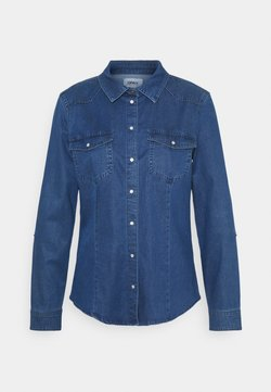 ONLY - ONLROCKIT LIFE - Camicia - medium blue denim
