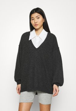American Vintage - KYBIRD - Maglione - anthracite chine