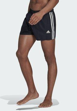 adidas Performance - CLASSIC 3-STRIPES SWIM SHORTS - Short de bain - blue