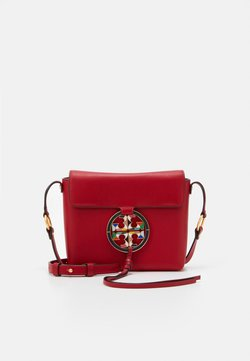 Tory Burch - MILLER STAINED GLASS CROSSBODY - Umhängetasche - red apple