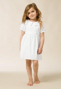 IVY & OAK - MIT PUFFÄRMEL - Korte jurk - bright white