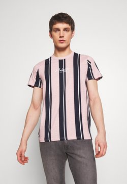 Hollister Co. - TECH LOGO STRIPES - Print T-shirt - pink