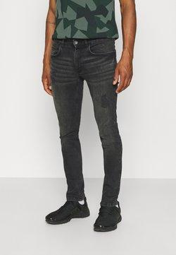 Redefined Rebel - STOCKHOLM DESTROY - Jeans Tapered Fit - duke black