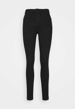 Vero Moda Tall - VMTILDE ANKLE ZIP - Jeansy Slim Fit - black denim