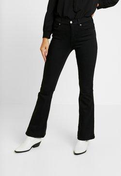 Dr.Denim Petite - SONIQ - Flared Jeans - black