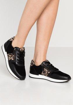 Gabor - Sneaker low - schwarz/natur