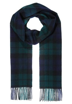 Barbour - NEW CHECK TARTAN SCARF - Szal - navy