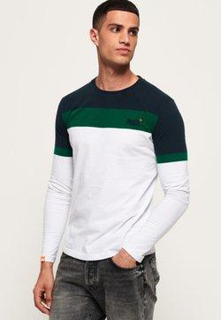 Superdry - ORANGE LABEL - T-shirt à manches longues - optic