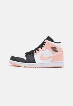 Jordan - AIR 1 MID - Höga sneakers - art basel/orange