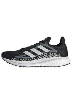 adidas Performance - SOLAR GLIDE ST 3 BOOST PRIMEGREEN RUNNING REGULAR SHOES - Obuwie do biegania treningowe - black