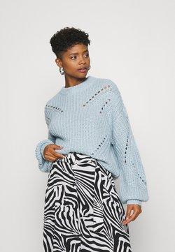 YAS - YASPOWDA - Sweter - powder blue