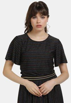 myMo - SHIRT - T-Shirt print - schwarz multicolor