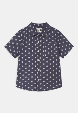 Cotton On - RESORT SHORT SLEEVE - Vapaa-ajan kauluspaita - ditsy/vintage navy