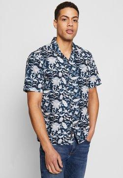 DOCKERS - SHORT SLEEVE ISLAND SHIRT - Camisa - banta navy blazer