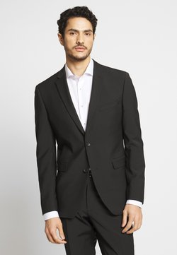 Esprit Collection - TROPICAL SUIT - Anzug - black