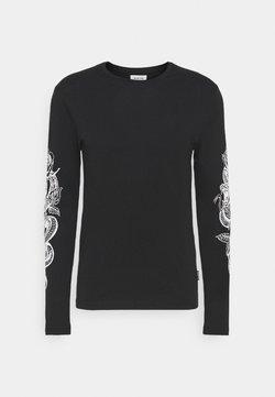 YOURTURN - UNISEX - Maglietta a manica lunga - black