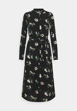 Vero Moda Petite - VMSIMPLY EASY SHIRT DRESS PETITE - Blusenkleid - black