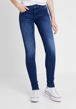 ONLY - ONLFCARMEN - Jeans Skinny Fit - dark blue denim