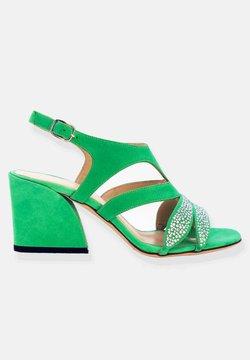 Jerelyn Creado - DAISY - Sandaalit nilkkaremmillä - mint green