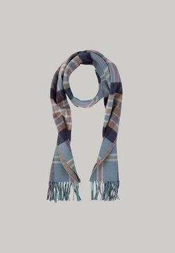 Hackett London - PATTERN  - Schal - blue/brown