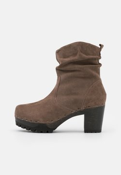 Softclox - BOOTIE - Plateaustiefelette - taupe