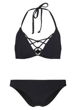 DORINA CURVES - BARTS SET - Bikini - black