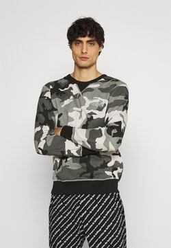 Diesel - UMLT-WILLY SWEAT-SHIRT - Nachtwäsche Shirt - camouflage grey