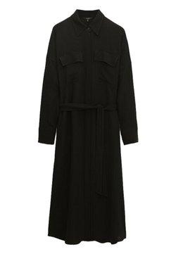 Massimo Dutti - Sukienka koszulowa - black