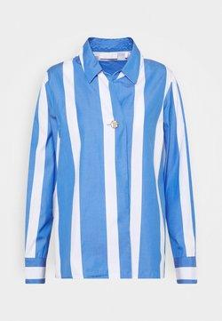 Rich & Royal - BLOUSE STRIPED - Hemdbluse - sky blue