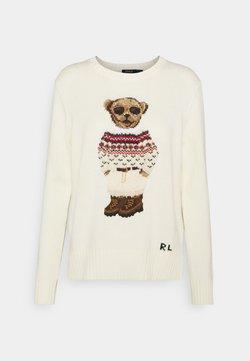 Polo Ralph Lauren - BLEND - Sweter - cream/multi