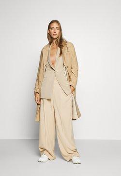 mine to five TOM TAILOR - COAT BASIC - Classic coat - warm sand melange
