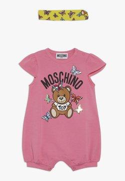 MOSCHINO - ROMPER HEADBAND GIFT SET - Jumpsuit - dark pink