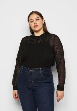 Vero Moda Curve - VMTHEA - Bluse - black