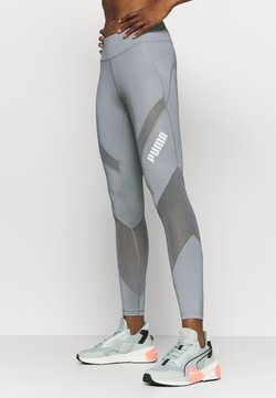 Puma - PAMELA REIF X PUMA COLLECTION MID WAIST - Tights - quarry