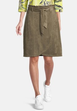 Betty Barclay - Jupe portefeuille - dusty olive