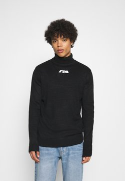 Night Addict - ORLO - Strickpullover - black