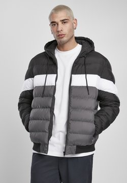 Urban Classics - Bubble  - Winterjacke - black/darkshadow