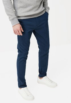 Next - STRETCH CHINOS - Chinot - blue
