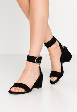 Even&Odd Wide Fit - WIDE FIT - Sandalen - black