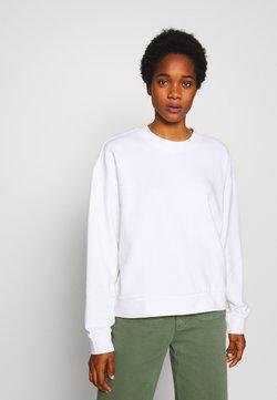 Weekday - HUGE CROPPED SWEATSHIRT - Sweatshirt - white