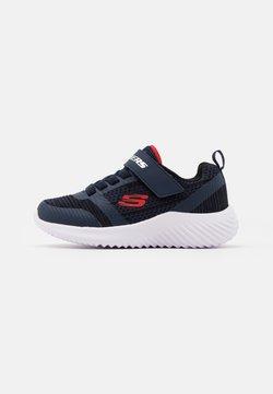 Skechers - BOUNDER - Sneaker low - navy/black/red