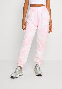 Gina Tricot - JACKIE - Träningsbyxor - pink tie dye