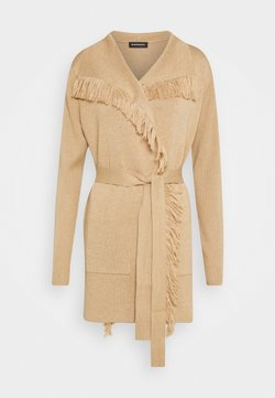 Repeat - Strickjacke - camel