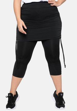 Sheego - Leggings - Hosen - black