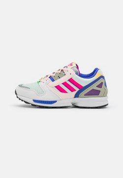 adidas Originals - ZX 8000 - Sneaker low - crystal white/dash green/shock pink