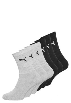 Puma - 6 PACK - Calcetines de deporte - black/grey