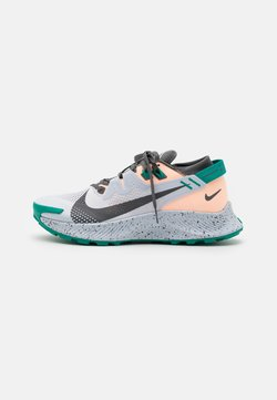 Nike Performance - PEGASUS TRAIL 2 - Chaussures de running - football grey/iron grey/crimson tint/neptune green