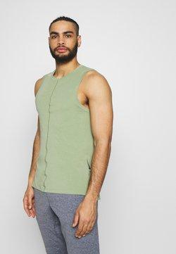 Nike Performance - TANK  - Camiseta de deporte - oil green/black